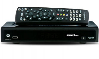 Shaw Direct DSR 605 HD satellite receiver image