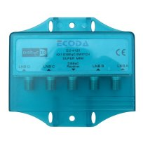 Ecoda 4x1 DiSEqC switch in waterproof cover image