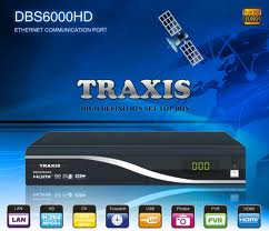 Traxis DBS6000HD MPEG4 FTA receiver image