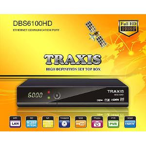 Traxis DBS6100HD MPEG4 FTA receiver image