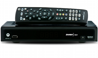 Shaw Direct DSR 630 HDPVR satellite receiver image